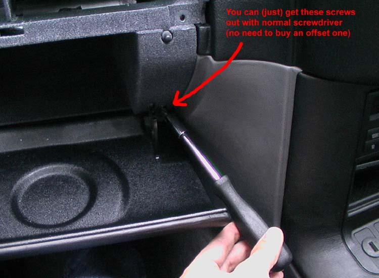 E36 Fuse Box Removal : Bmw e glovebox removal